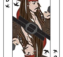 the Jack of Sparrow by Superstartistry