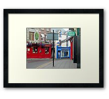 Irish Street Framed Print