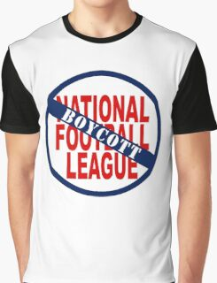 Boycott the NFL Graphic T-Shirt