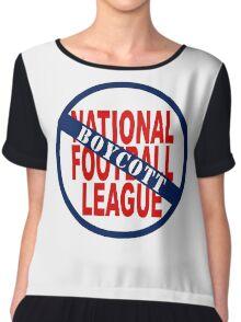 Boycott the NFL Chiffon Top