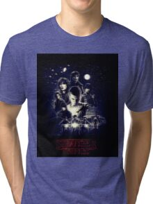 Stranger Things tv Tri-blend T-Shirt
