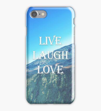 Live Laugh Love Case iPhone Case/Skin