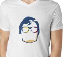 Super Hero Mens V-Neck T-Shirt