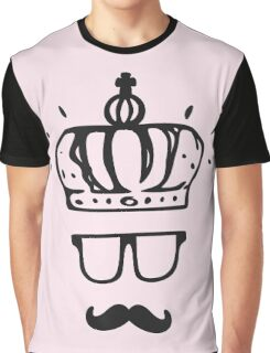 Crownface with mustache - Life is Strange Graphic T-Shirt