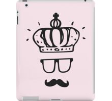 Crownface with mustache - Life is Strange iPad Case/Skin
