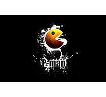 Pac Man - P- Man Photographic Print