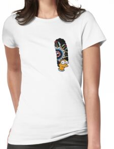 Marge tv show all over print tattoo design Womens Fitted T-Shirt