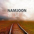 Namjoon (Rap Monster) Phone Case - Tracks by ReadingFever