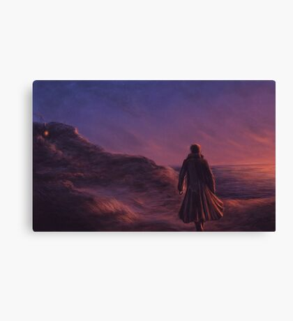 The Pirate and the Witch Canvas Print