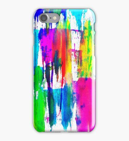 Neon CMYK iPhone Case/Skin