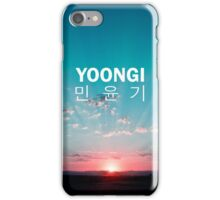 Yoongi (Suga) Phone Cover - Sunrise iPhone Case/Skin