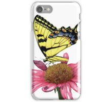 Swallowtail and Coneflower iPhone Case/Skin