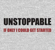Unstoppable Get Started One Piece - Short Sleeve