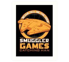 The Smuggler Games Art Print