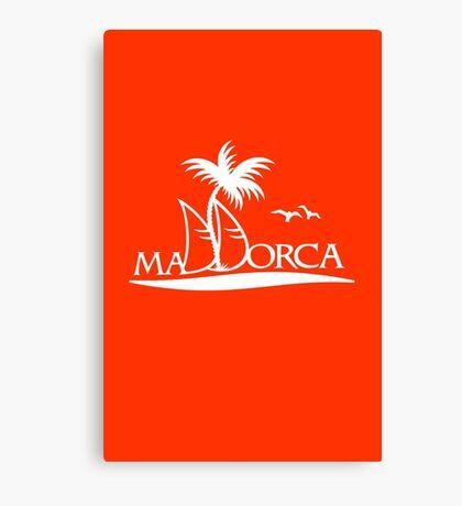Sailing in Mallorca VRS2 Canvas Print