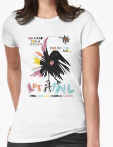 let it fall Womens Fitted T-Shirt
