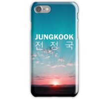 Jungkook Phone Cover - Sunrise iPhone Case/Skin