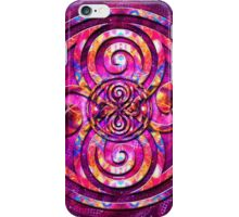 Fractals in Space (Doctor Who) iPhone Case/Skin