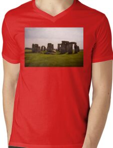 Stonehenge Mens V-Neck T-Shirt
