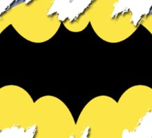 Tear-Away Batman Sticker