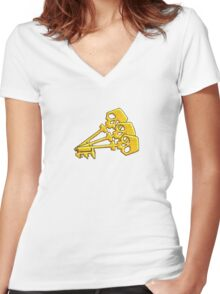 Borderlands Golden Keys Women's Fitted V-Neck T-Shirt