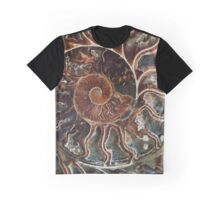 Fossilized Shell Graphic T-Shirt