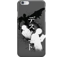 Lights journey iPhone Case/Skin