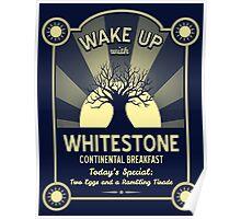 Whitestone's Continental Breakfast Poster