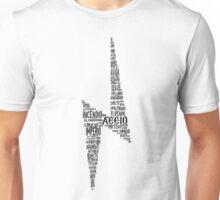 Spells Harry Potter Black Unisex T-Shirt