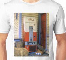 Old Coke machine Unisex T-Shirt