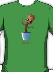 Guardians of the Galaxy - I am Cute T-Shirt