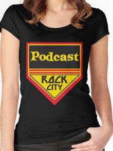Podcast ROCK CITY Podcast! Women's Fitted Scoop T-Shirt