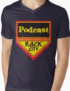 Podcast ROCK CITY Podcast! Mens V-Neck T-Shirt