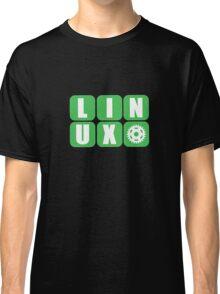 Linux Grid Design Gear I Classic T-Shirt