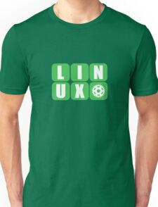Linux Grid Design Gear I Unisex T-Shirt