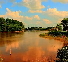 Assiniboine River...HDR by Larry Trupp