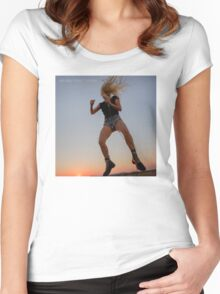 It was a PERFECT ILLUSION Women's Fitted Scoop T-Shirt