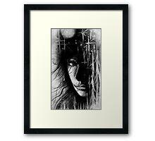 Female Forest Spirit Framed Print
