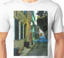 Back Street in Charleston Unisex T-Shirt
