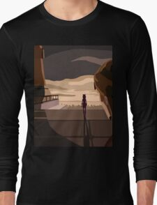 "Ahsoka Tano ""Im sorry master, Im not coming back"" Long Sleeve T-Shirt"