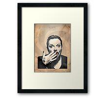 Eddie Izzard Framed Print