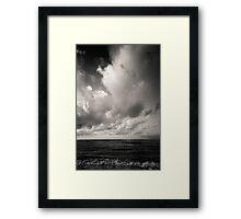 summer ver.black Framed Print