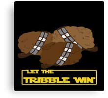 Let the Tribble Win Canvas Print
