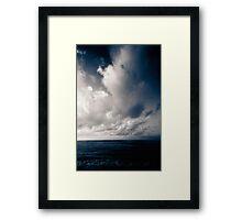 summer ver.navyblack Framed Print