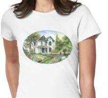 Garden House Womens Fitted T-Shirt