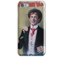 Performing Arts Posters Joseph Hart Vaudeville Co direct from Weber Fields Music Hall New ork City 0440 iPhone Case/Skin