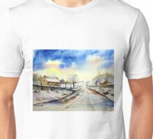 Wintery Lane Unisex T-Shirt