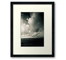 summer ver.greenblack Framed Print