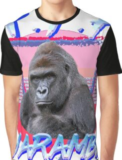 Harambe Vintage T-Shirt Graphic T-Shirt