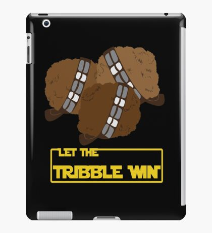Let the Tribble Win iPad Case/Skin